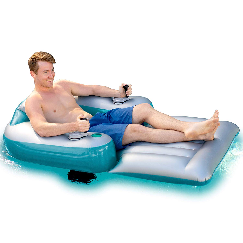 PoolCandy Splash Runner Motorized Luxury Pool Lounger