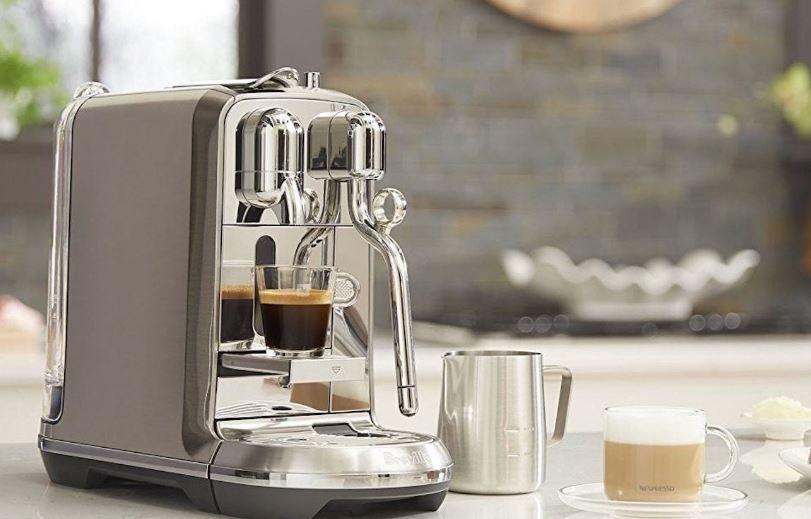 Breville Nespresso Creatista Single Serve Espresso Machine