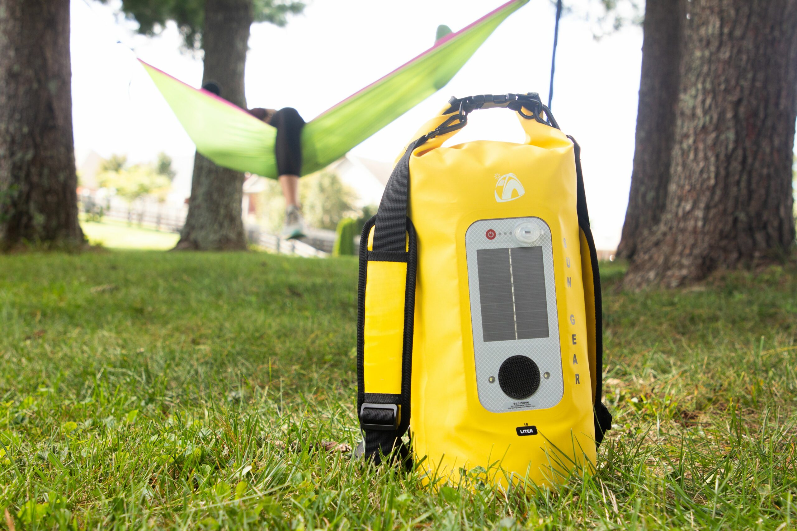 SUN GEAR Dry Bag Bluetooth Speaker