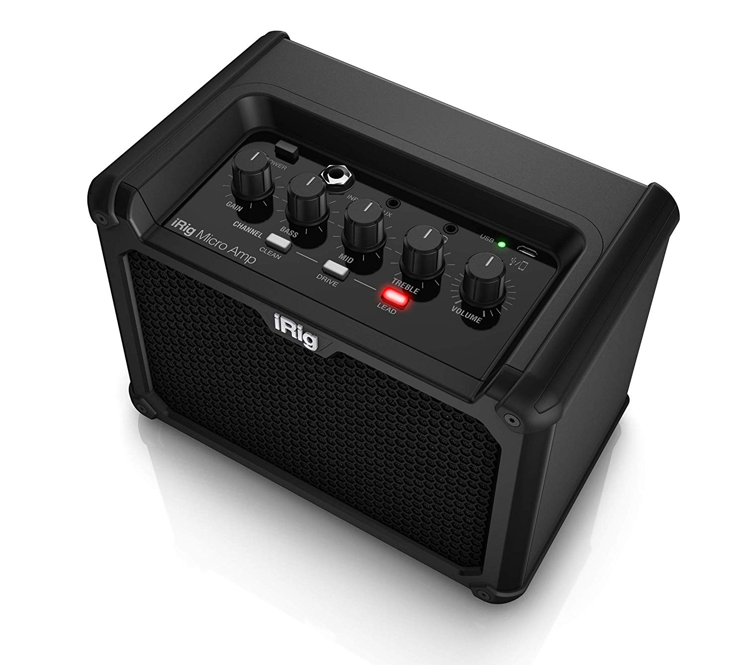 IK Multimedia iRig Micro Amp Battery-Powered Guitar Amplifier