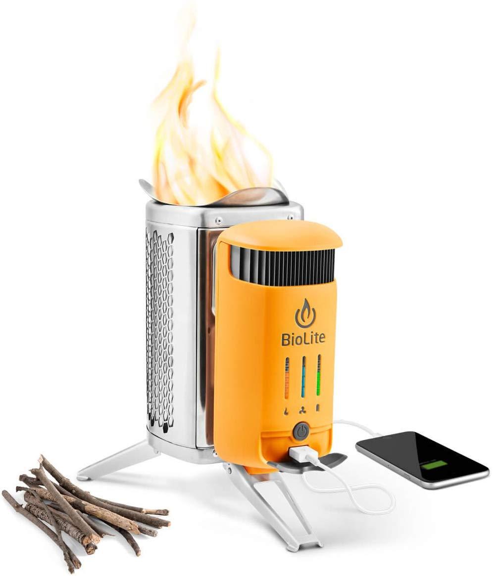 BioLite CampStove 2 – Electricity-Generating Wood Burner Stove