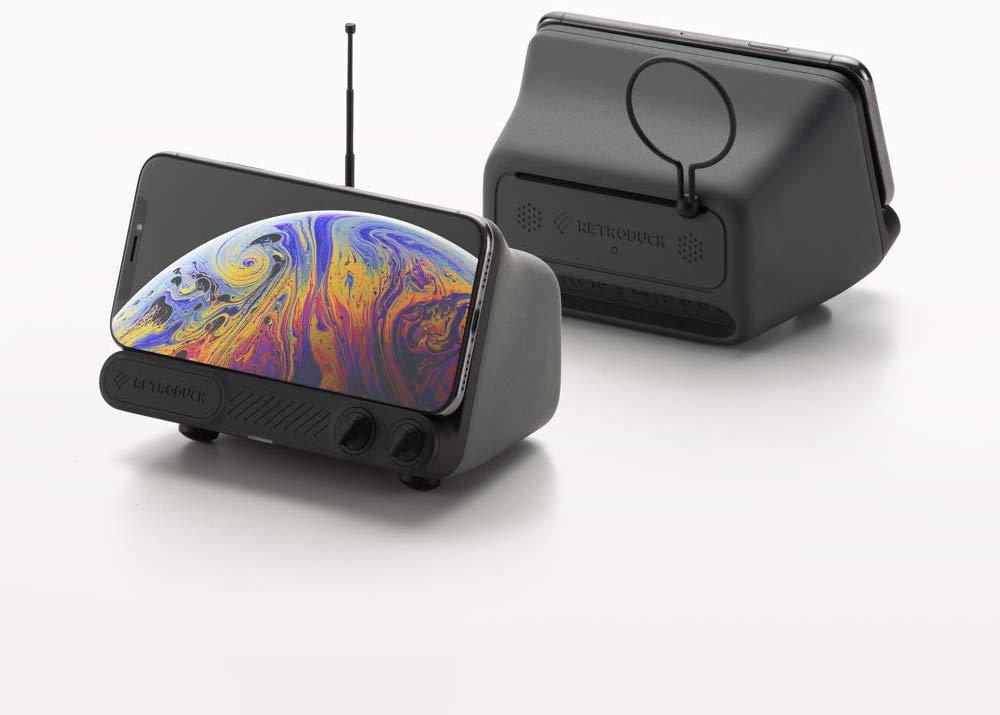 Retroduck Q Wireless iPhone Dock
