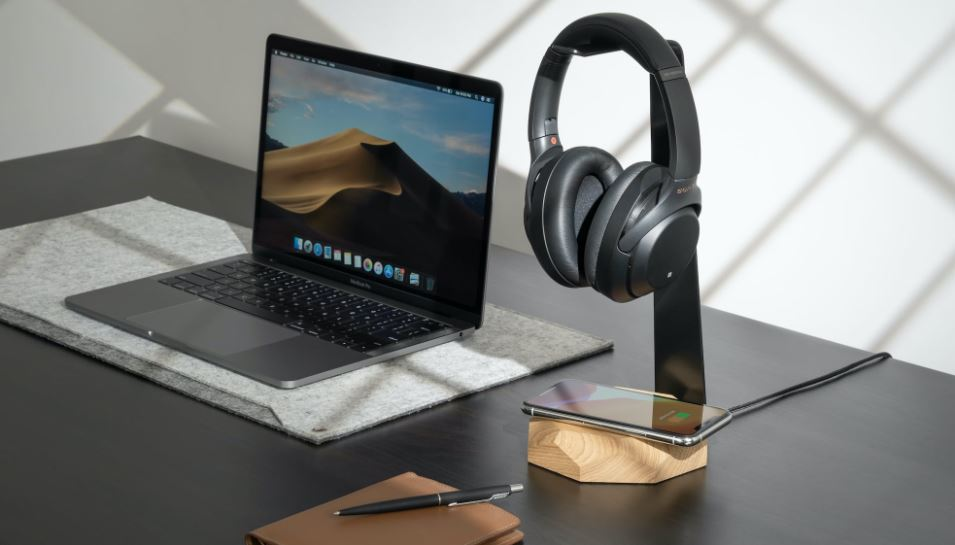 Oakywood 2-in-1 Headphone Stand